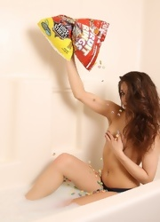 Ally Covers Her Booty With Fruit Loops - Picture 4